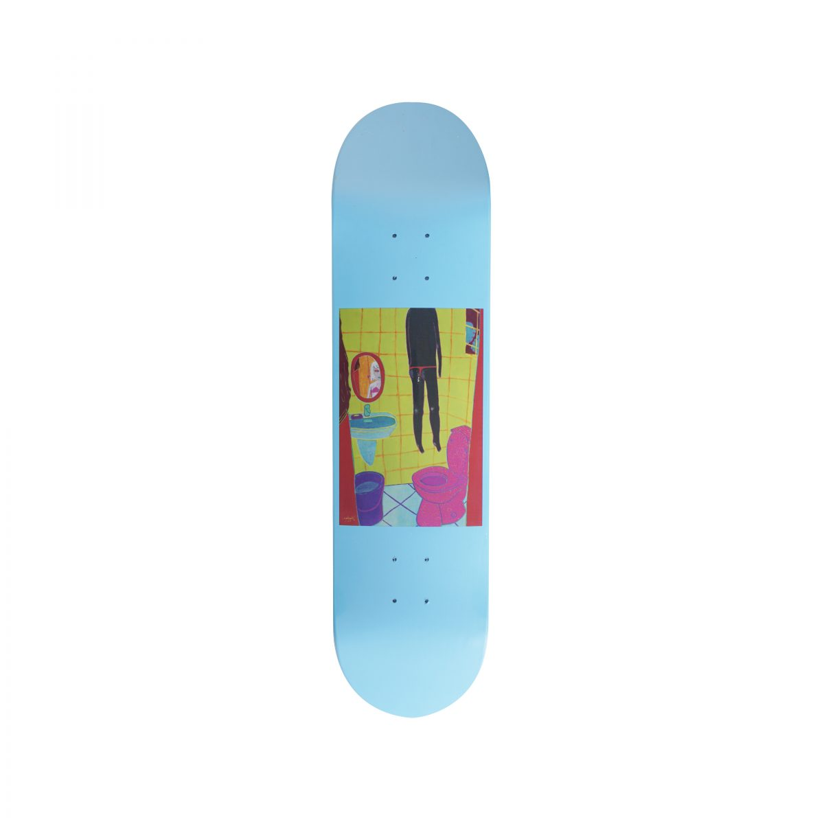 YEOKAA FOR PROGRESS® S/S 2018 SKATE DECK BLUE