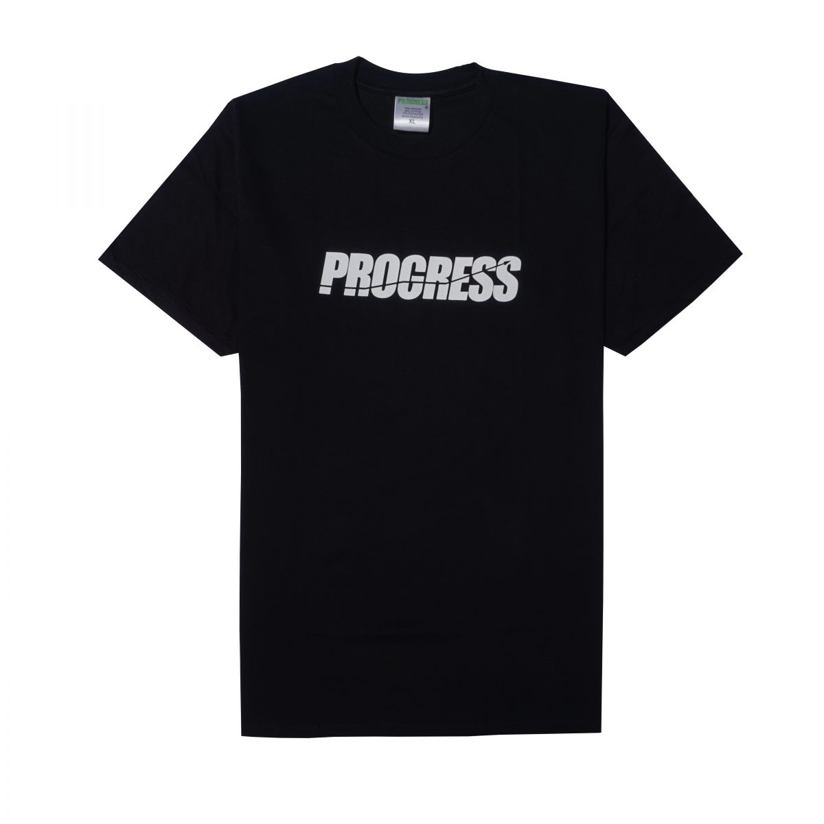 LOGO TEE WHITE ON BLACK
