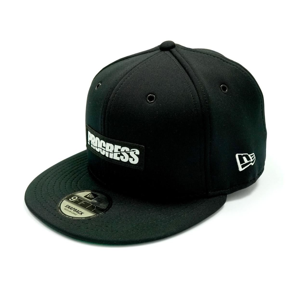 NE CAP BLACK FRONT