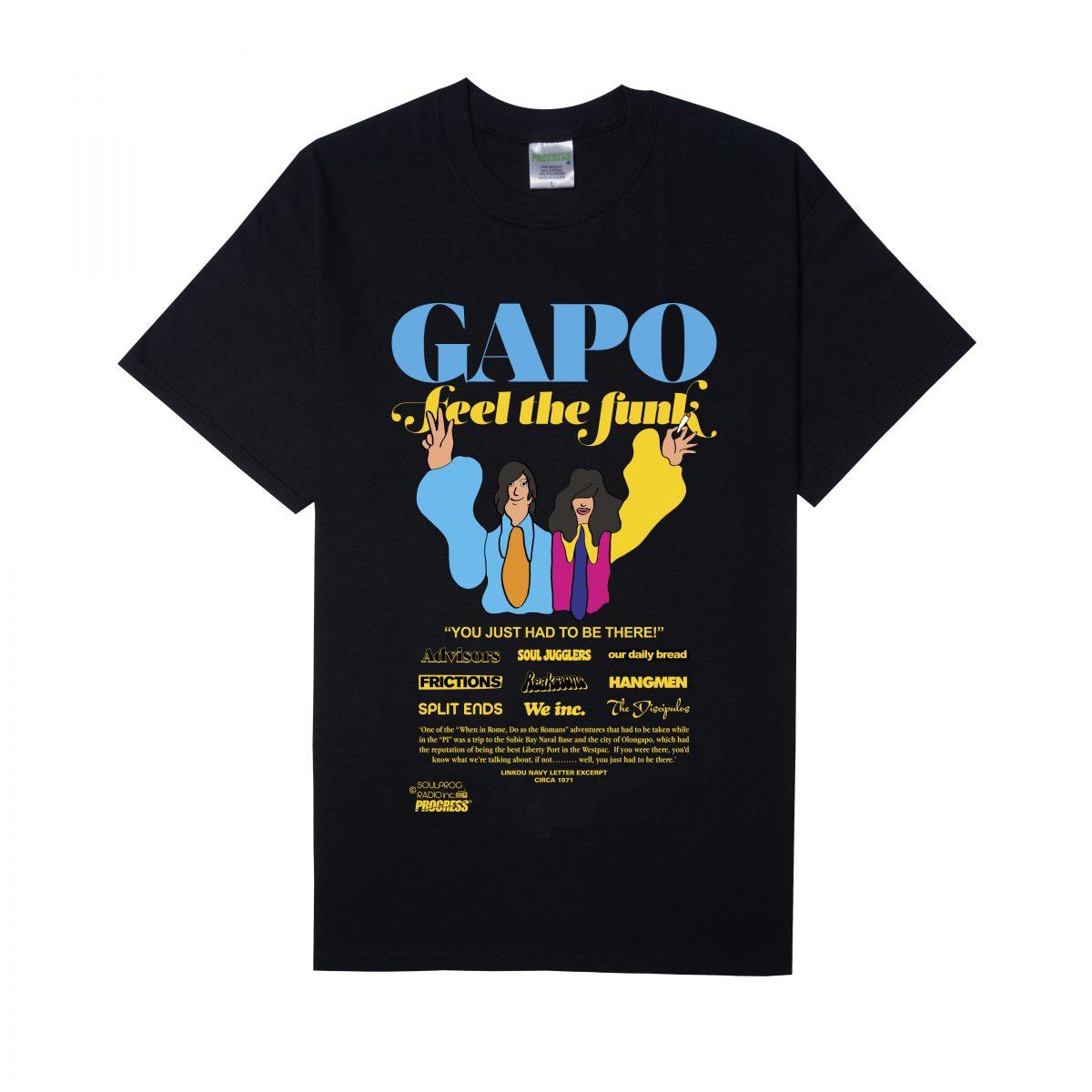 GAPO BLACK TEE